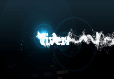 Create this BLACK 3DPARTICLES intro video JUST