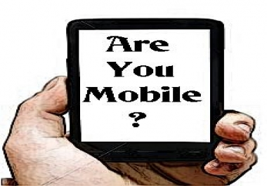 build you a mobile site including hosting