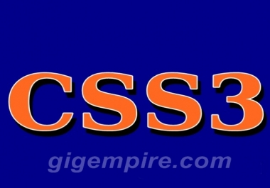 send you an amazing CSS3 course