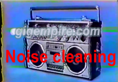 clean up audio files upto 30 minutes
