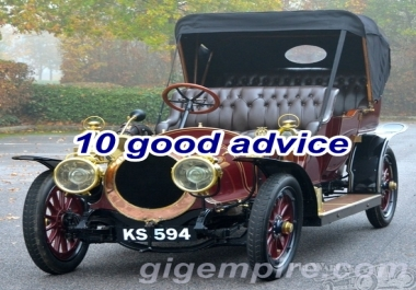 give 10 good advice about buying used cars