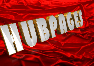 Create HubPages With Top Quality SEO Article For Your Fiverr Community