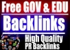 Backlink Your Website With 500 Quality Unlimited Gov Edu BACKLINKS