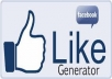 show you Facebook Page Post Generator