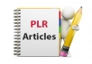 Give You Over 11000 Health PLR Articles