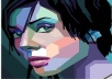draw you as High Resolution wpap style