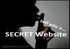 Send You To A SECRET Website